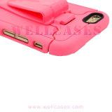 Caixa dura personalizada do telefone móvel para o iPhone 6/6plus com suporte