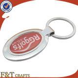 バルクブランク昇進のカスタマイズされた刻まれた金属Keychain (FTKC1808A)