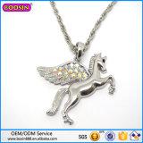Collar al por mayor de Pegasus de la plata de la alta calidad