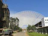 Edificio porta prefabricado de la estructura de acero del marco del palmo grande