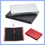 Aluminium Alloy EVA Storage Box voor BR MMC TF Memory Card Protecter Case 4X voor BR Card, 8X Micro SIM Card