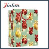 Мешок пакета с Рождеством Христовым способа дешевыми изготовленный на заказ напечатанный оптовыми продажами бумажный