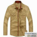 tela de algodón de la mirada de Tencel de la tela de algodón de la armadura de satén 60s