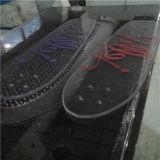 Planche à roulettes faite sur commande de polycarbonate de Transparant pour des sports en plein air