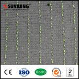 Couvre-tapis artificiel bon marché synthétique d'herbe du matériau 50mm de PE pour des terrains de football