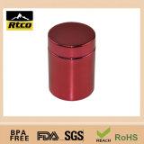 Frasco/tampa plásticos da embalagem dos esportes vermelhos de Metalization