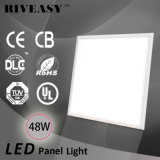 48W LED de luz del panel de luz LED con la UL TUV GS Dlc CB CE EMC RoHS no parpadeante controlador de 90lm / W luz del panel