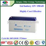 Batterie profonde de gel du cycle 12V 150ah avec 8 ans de vie