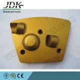 2四分の一PCD +ダイヤモンドセグメント台形の粉砕の版または靴