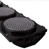 300mm 12 Pouces Rouge Jaune Vert LED Circle Signal de Circulation avec Un Numérique Compte à Rebours