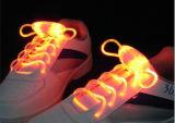 Lacet de chaussure de clignotant de lacet de chaussure d'éclairage de LED