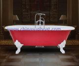 Banheira autônoma da banheira de Sunboat/do ferro molde do esmalte/grandes cuba/banheira européias