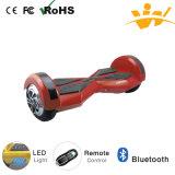 Individu de 8 pouces équilibrant le scooter électrique intelligent