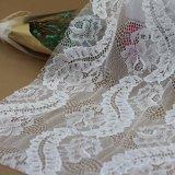 Ricamo Voile Lace con Silver Thread per Garments e la Casa-Textiles