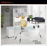 Популярная конструкция для стеклянного стола офиса