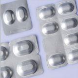 Folha de alumínio laminada farmacêutica impressa branco Rolls