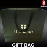 Grand sac de papier de luxe de cadeau pour l'emballage de vêtement