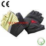 Половинные перчатки людей перста, половинные перчатки гольфа перста, перчатки Knit Lycra