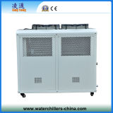 R407c Refrigerant Air Cooling Copeland Scroll Chiller Unit (8ton)