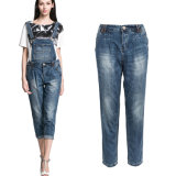 Кальсоны Jean джинсовой ткани прозодежд способа женщин фабрики изготовленный на заказ