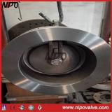鋳造物鋼鉄ウエファーのタイプ単一の版の小切手弁