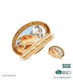 Insigne en métal de promotion de souvenir avec le logo personnalisé