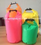 Prezzo di fabbrica all'ingrosso che fa galleggiare il sacchetto di Duffel asciutto con le cinghie di spalla