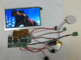 módulo video de 5/7/10.1inch LCD, folleto video interno sin la cartulina
