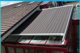 Tenda di conservazione di rinforzo lusso con il motore solare di CC ed il tessuto acrilico