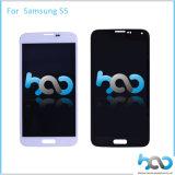Индикация LCD ремонта экрана мобильного телефона для панели касания Samsung S5