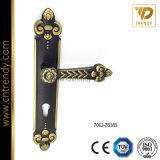 Ручка ручки плиты двери сплава цинка/панели двери (7037-Z6024)