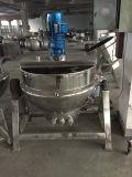 Бак испаренный нержавеющей сталью Jacketed (пар/электрическое топление)