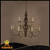 Luzes de pingente de lustre banhado a ferro antigo de ferro cinzento antigo (GD9113-8 + 4)