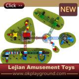 Спортивная площадка материальных детей LLDPE напольная для парка (X1505-10)