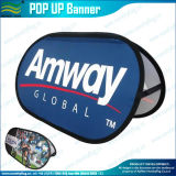 Pull out por atacado Banner Pop acima Promotion Display Stand (M-NF22F06017)