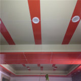 Aluminum Hyperbolic Panel para Office Cladding e Ceiling Decoration