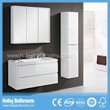 LED-Noten-Schalter-MDF gebogene hölzerne Badezimmer-Schrank-Geräten-Atmosphäre (PF129c)