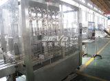 Máquina de rellenar del petróleo plástico linear automático de la botella