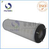 Filterk 3 parafusos plissou o filtro dos cartuchos da celulose