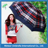 Guarda-chuvas de dobramento telescópicos compatos para o presente da promoção
