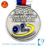 Medalha feita sob encomenda da concessão da lembrança da prata 3D da antiguidade do metal