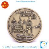 Medalha da lembrança do metal do Anti-Bronze do costume 2D
