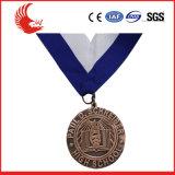 Medalha de artesanato de metal personalizado de alta qualidade promocional de 2016