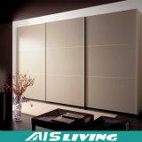 光沢度の高く白い現代寝室のワードローブの引き戸(AIS-W171)