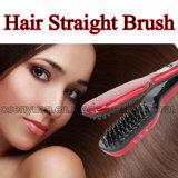 Escova de cabelo reto elétrica original de 100%