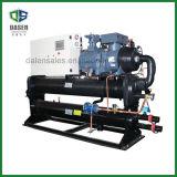 Refrigerador de agua industrial refrigerado por agua del uso plástico de la eficacia alta