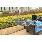 Dispositivo arrebatador, ferramenta de limpeza, vassoura de estrada