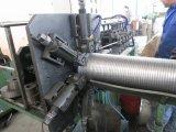 Tubo flexible de la pipa del tubo de escape del acero inoxidable que hace la máquina