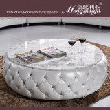 Sofá de couro da sala de visitas (893#)