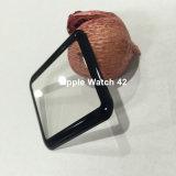 protetor de dobra quente curvado 3D da tela do vidro Tempered de tampa cheia para o relógio 42mm de Apple